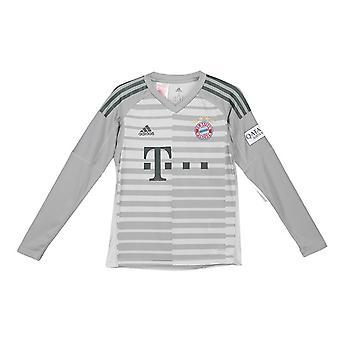 2018-2019 Bayern Munich Home Adidas Goalkeeper Shirt (Kids)