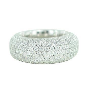 ESPRIT collection damer ring silver zirconia Periteau ELRG91877A