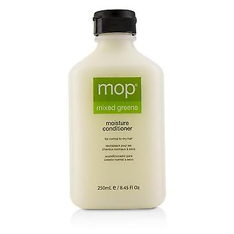 Mop Mop Mixed Greens Moisture Conditioner (for Normal To Dry Hair) - 250ml/8.45oz