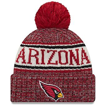 New Era NFL Sideline 2018 Bobble Mütze - Arizona Cardinals