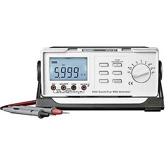 VOLTCRAFT VC611BT Bench multimeter Digital CAT II 600 V Display (counts): 6000