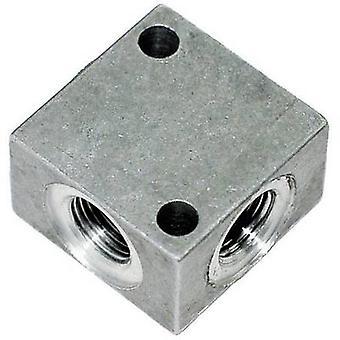 ICH 60402 Aluminium Cross spruitstuk 1/8