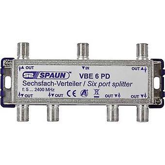 Spaun VBE 6 PD SAT Splitter 6-Wege