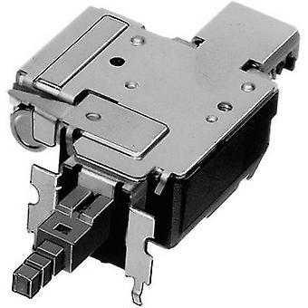 ALPS SDDFD30100 Pushbutton switch, Power switch 250 V AC 8 A 2 x On/Off latch 1 pc(s)