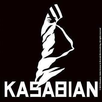 Kasabian Coaster Ultra Face band logo new Official 9.5cm x 9.5cm single cork