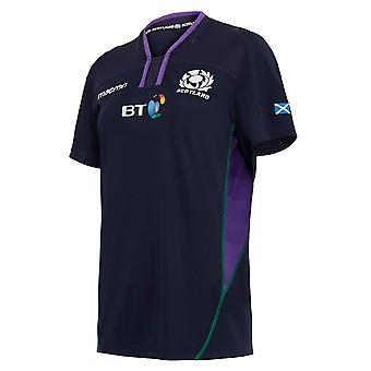 2018-2019 Scotland Macron Home Womens Poly Rugby Shirt