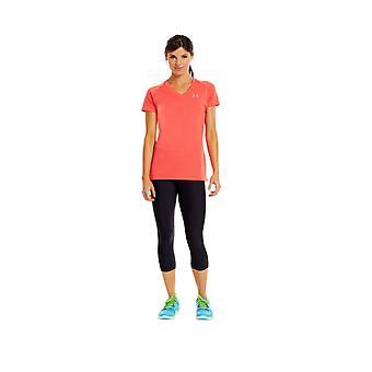 Under Armour Tech Short Sleeve T-Shirt Womens [tangerine]