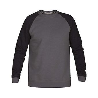 Hurley Crone Crew Sweatshirt in Grey Heather