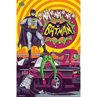Batman 1966 - victoire Poster Print