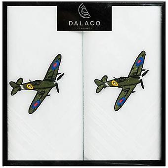 Dalaco Spitfire Handkerchiefs - White