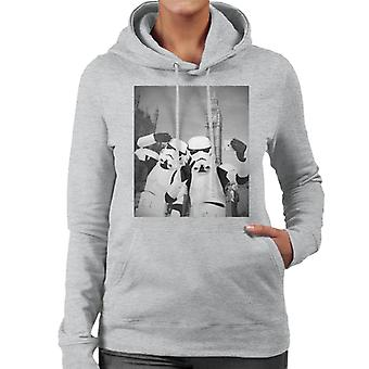 Original Stormtrooper Selfie Big Ben Women's Hooded Sweatshirt