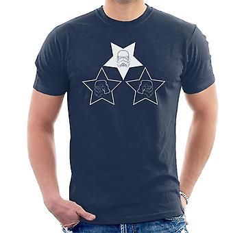 Original Stormtrooper Helm Strichzeichnungen Sterne Herren T-Shirt