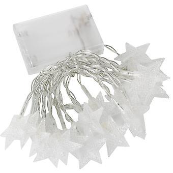 TRIXES 1,5 м 20 теплый белый светодиод звезда фея огни дома рождественские украшения