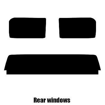 Pre cut ikkunasävy - Hummer H3T - mukaan 2008-2010 - takaikkunat