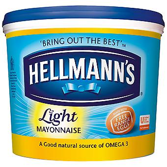 Hellmanns Light Mayonnaise Tub