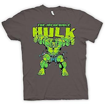 Crianças a t-shirt - incrível Hulk - herói em quadrinhos
