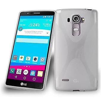 Cadorabo Hülle für LG G4 STYLUS Case Cover - Handyhülle aus flexiblem TPU Silikon – Silikonhülle Schutzhülle Ultra Slim Soft Back Cover Case Bumper