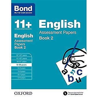 Bond 11 +: Anglais: documents d'évaluation: 9-10 ans livre 2