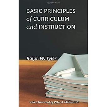 Grunnleggende prinsipper for pensum og undervisning