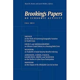 Brookings Papers på ekonomisk verksamhet: hösten 2014