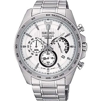 Seiko Chronograph quartz men's Watch with stainless steel band SSB297P1