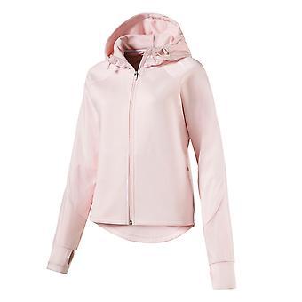 Puma Evostripe Full Zip Womens Ladies Sport felpa con cappuccio giacca felpa con cappuccio rosa