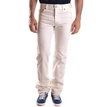 Marc Jacobs Ezbc062041 Men's White Cotton Jeans