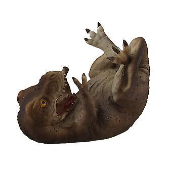 ديناصور غير منظم الزخرفية زجاجة واحدة حامل النبيذ حامل