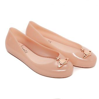 Melissa Shoes Mini Melissa Kids VW Space Love Pumps, Nude Orb