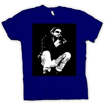 Mens T-shirt - Michael Hutchence INXS - BW