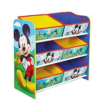 Unité de stockage Mickey Mouse 6 Bin