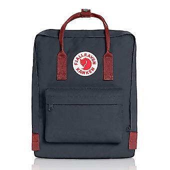 Fjallraven - Kanken Classic Backpack for Everyday - Black/red