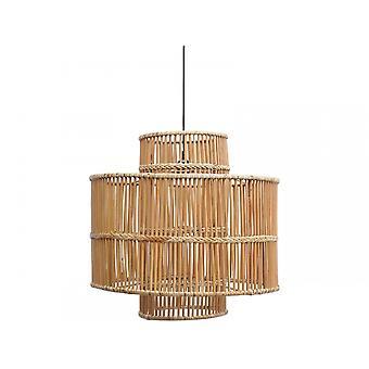 Libra Furniture Natural Rattan And Bamboo Pendant
