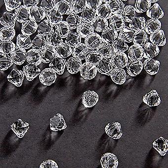 Dekoracje stołu stół diamond 9 x 9 mm diamentowe konfetti