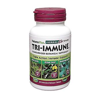 Nature es Plus Herbal Actives Tri-Immune Extended Release Tabs 60 (7380)