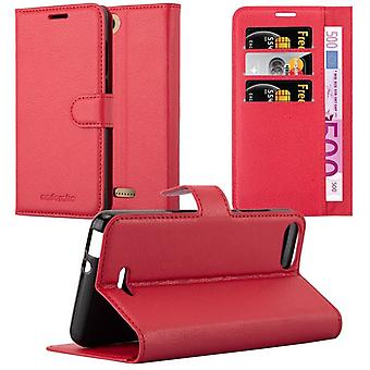 Cadorabo Case for WIKO TOMMY 3 Case Cover - Phone Case with Magnetic Closure, Stand Function and Card Compartment - Case Cover Case Case Case Case Case Book Folding Style