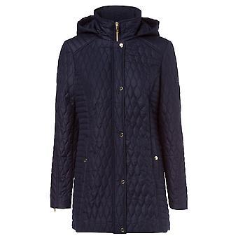 Olsen Blue Navy coat 15101295