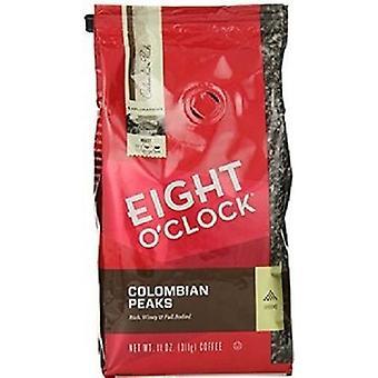 Oito O relógio ' 100% colombiano picos café moído