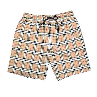 Burberry House Check Shorts Camel