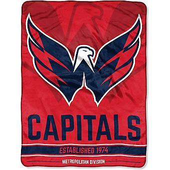 Northwest NHL Washington Capitals Micro Plush Blanket 150x115c