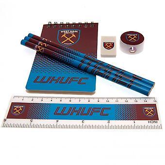 West Ham United FC Starter Stationery Set