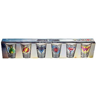 Justice League Movie Full Team Shot Glass Set of 6