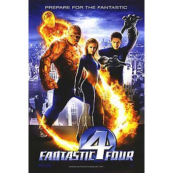 Fantastic Four (Double Sided International) (2005) Original Cinema Poster