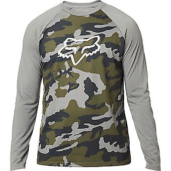 Fox Mens Tournament Camo Long Sleeve Tee