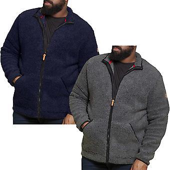 Duke D555 Mens Big Tall Kingsize Bawty Bonded Full Zip Winter Fleece Jacket