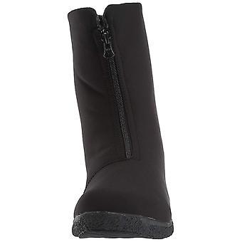 Propet Women's Madi Mid Zip Snow Boot Black 6 Narrow US