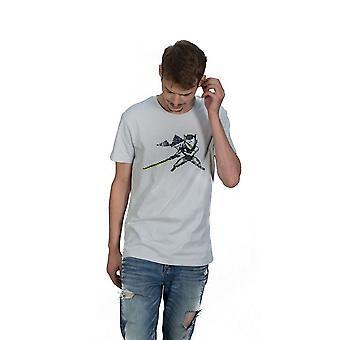 Watch Genji pixel T-skjorte unisex liten hvit (TS004OW-S)