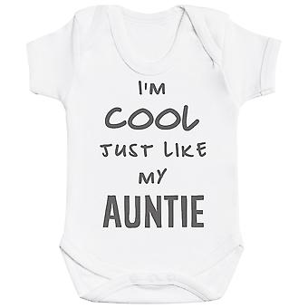 I'm Cool Just Like My Auntie Baby Bodysuit