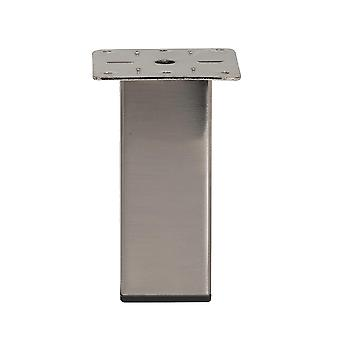 Stainless Steel Squares Furniture Leg 13 cm