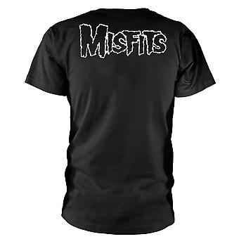 Misfits Unisex Adults Skull Design T-shirt